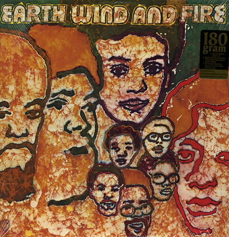 earth wind & fire lp record 357850