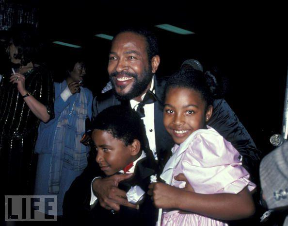 marvin gaye family 1983. februar
